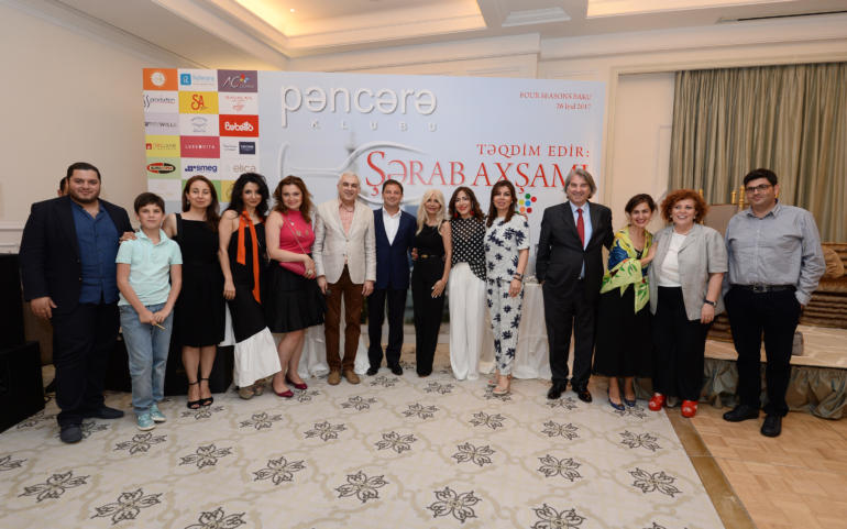 The club Panjara has organized «Wine Evening»