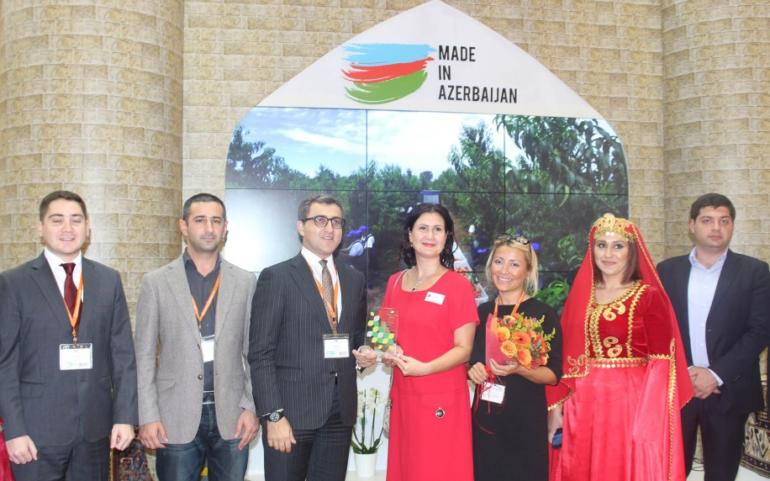 "Stand ""Made in Azerbaijan"" at the XXVI WorldFood Moscow"