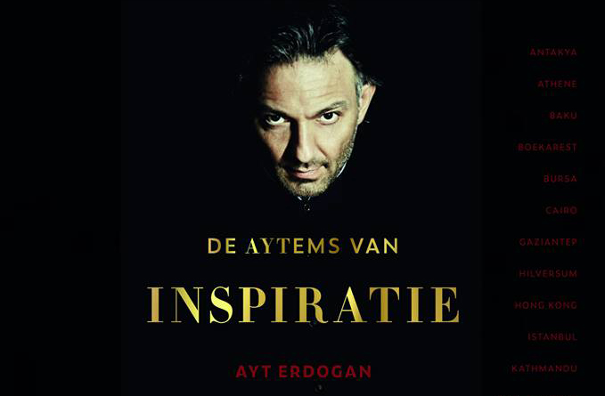 The presentation of a gastronomic book by Chef Ayt Erdogan