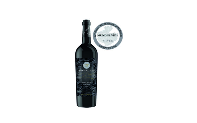 SAVALAN Limited Release Reserve wine won silver medal at MUNDUS VINI'2018